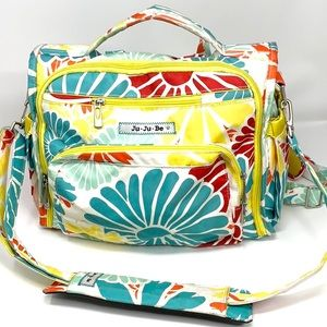 Ju Ju Be flower diaper backpack